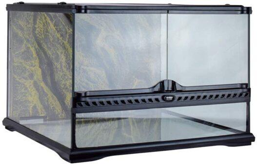 Exo Terra Short All Glass Terrarium, 18 by 18 by 12-Inch