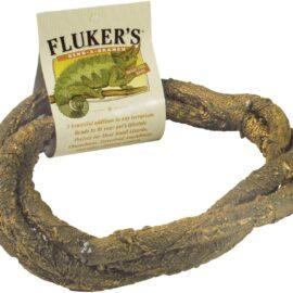 Fluker's 51019 Small Animal Bend-A-Branch Pet Habitat Decor, Medium,brown