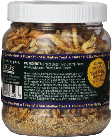 Fluker's Aquatic Turtle Medley Treat Food